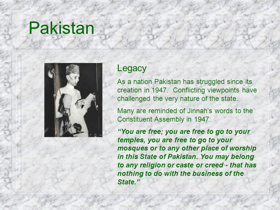 Pakistan Legacy.