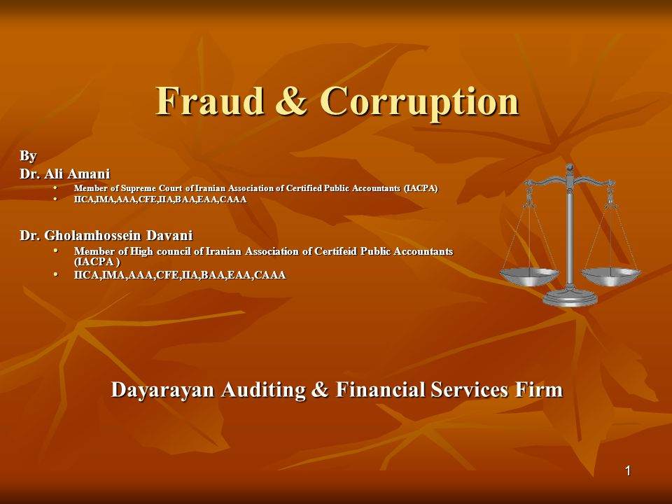 Dayarayan Auditing & Financial Services Firm