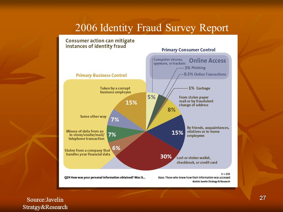 2006 Identity Fraud Survey Report