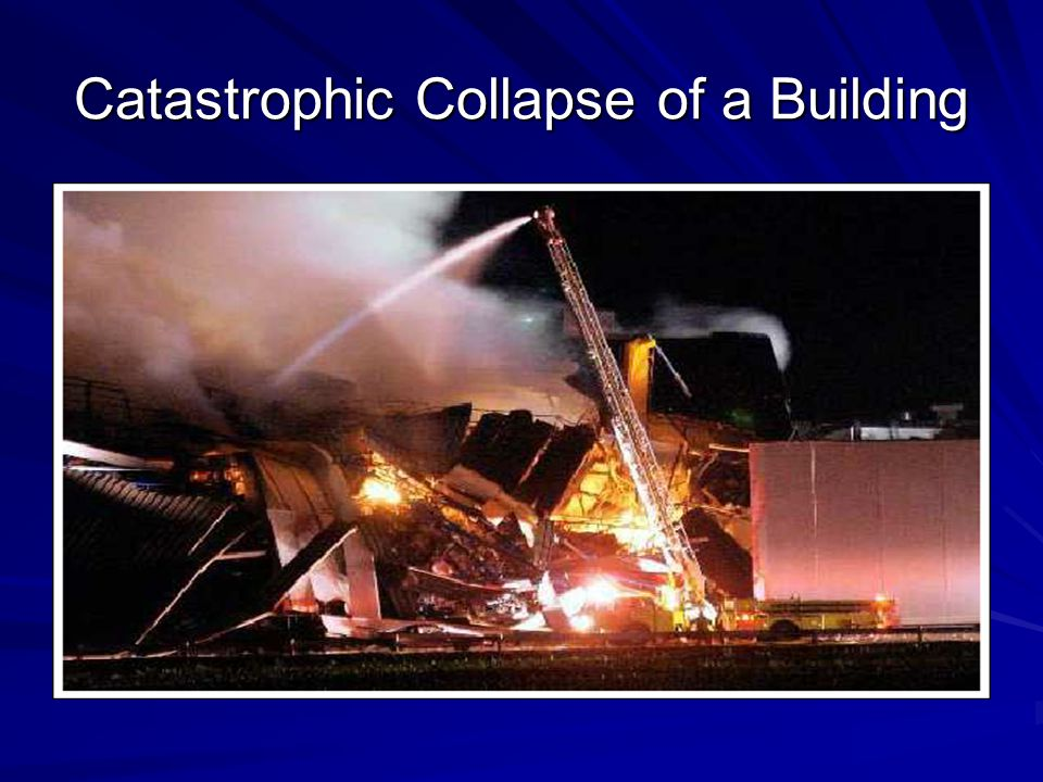 Catastrophic Collapse of a Building