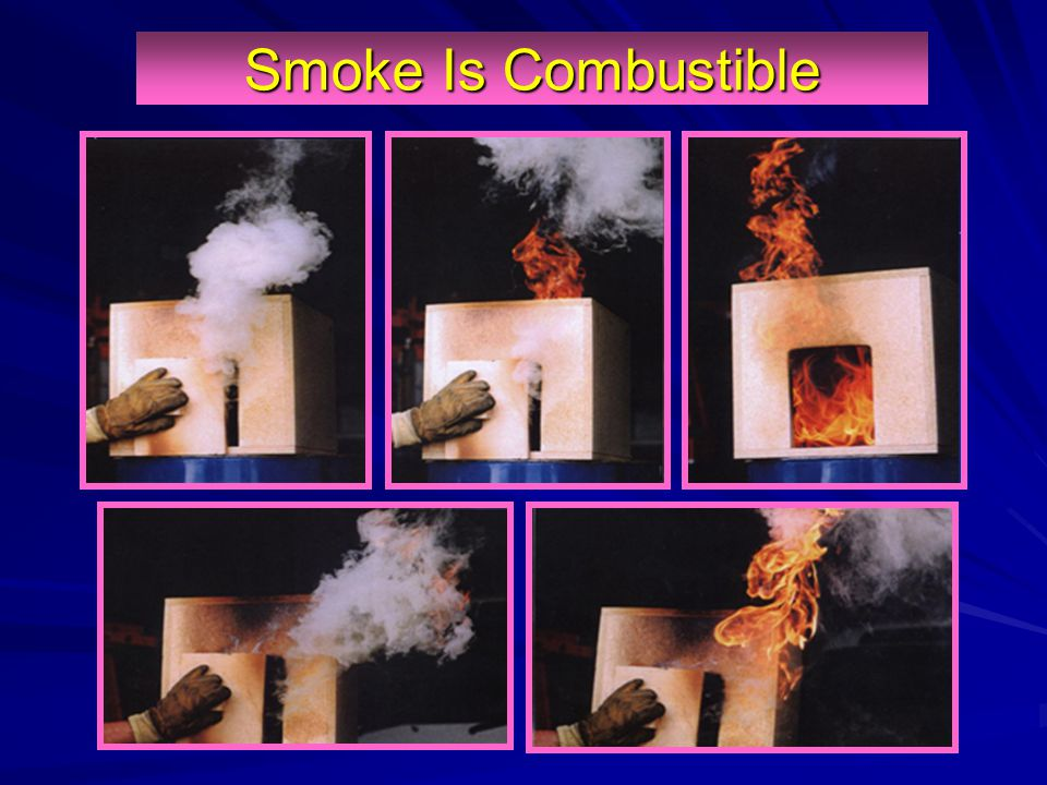 Smoke Is Combustible