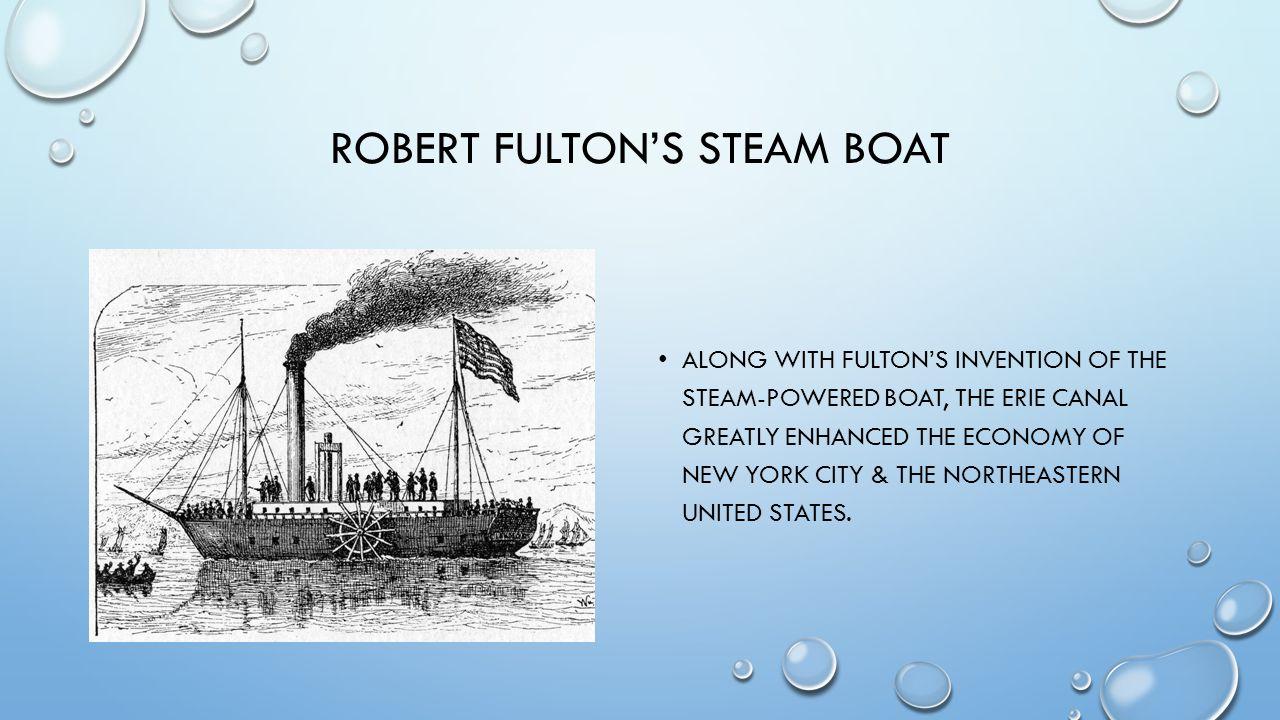 Robert Fulton's Steam boat