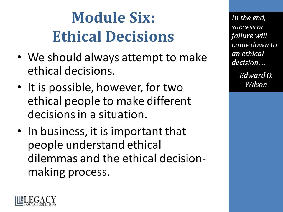 contrast the three ethical decision criteria Ethical decision-making in social work  c problems with these criteria d choosing harm  a synopsis of the guide to ethical decision-making 2 the method of .
