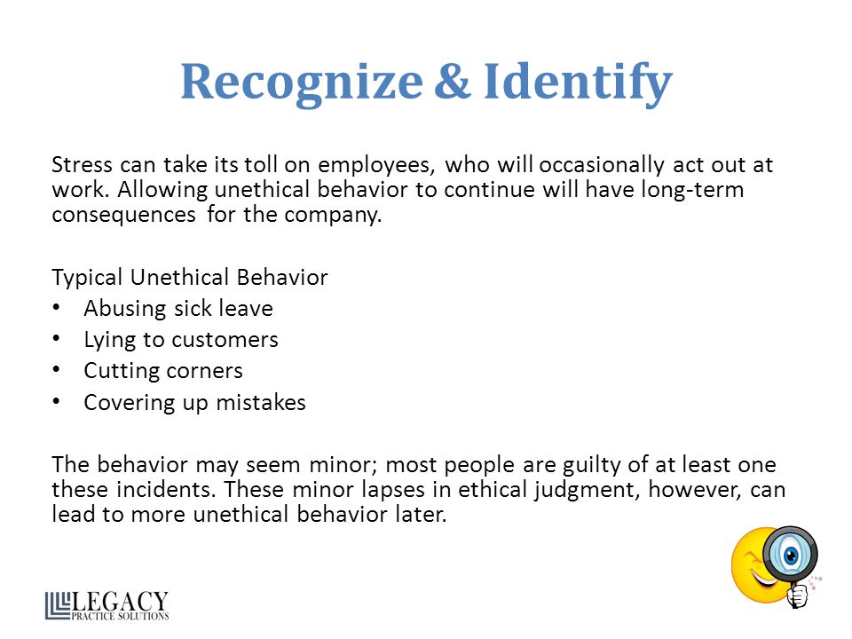 Recognize & Identify