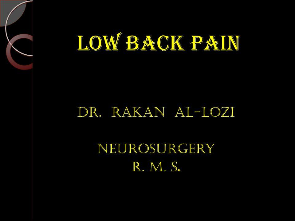Dr. Rakan AL-Lozi Neurosurgery R. M. s.