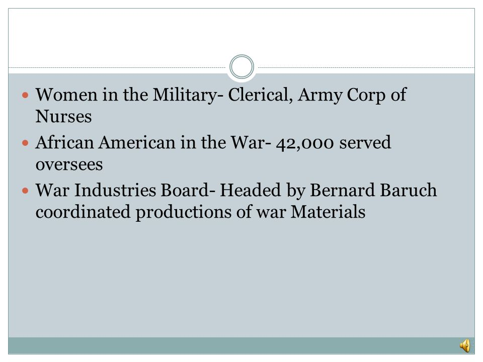 Women in the Military- Clerical, Army Corp of Nurses