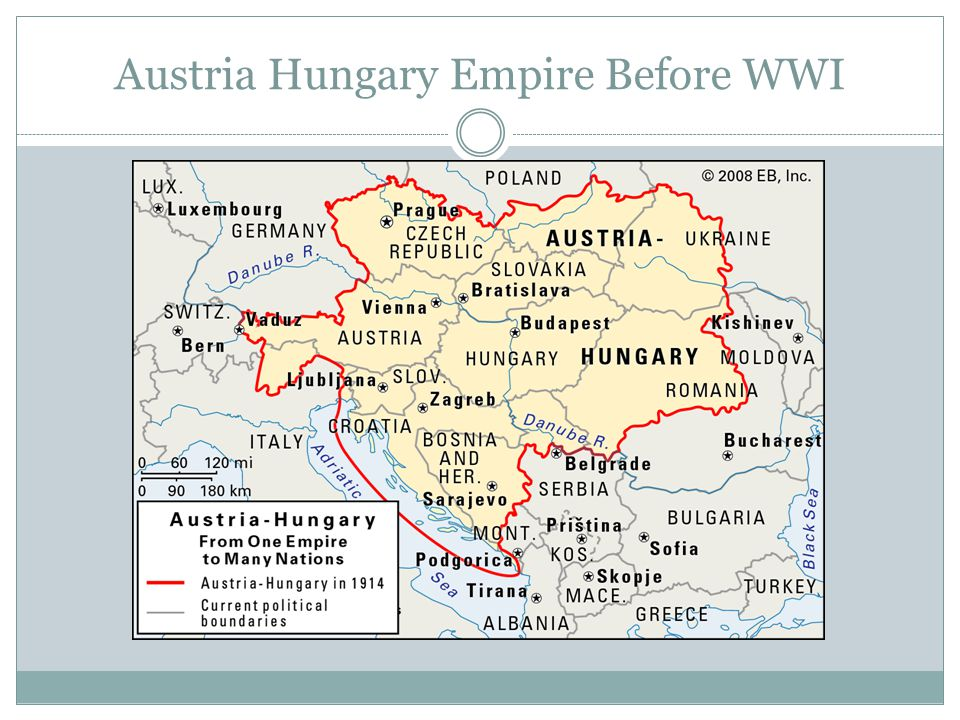 Austria Hungary Empire Before WWI