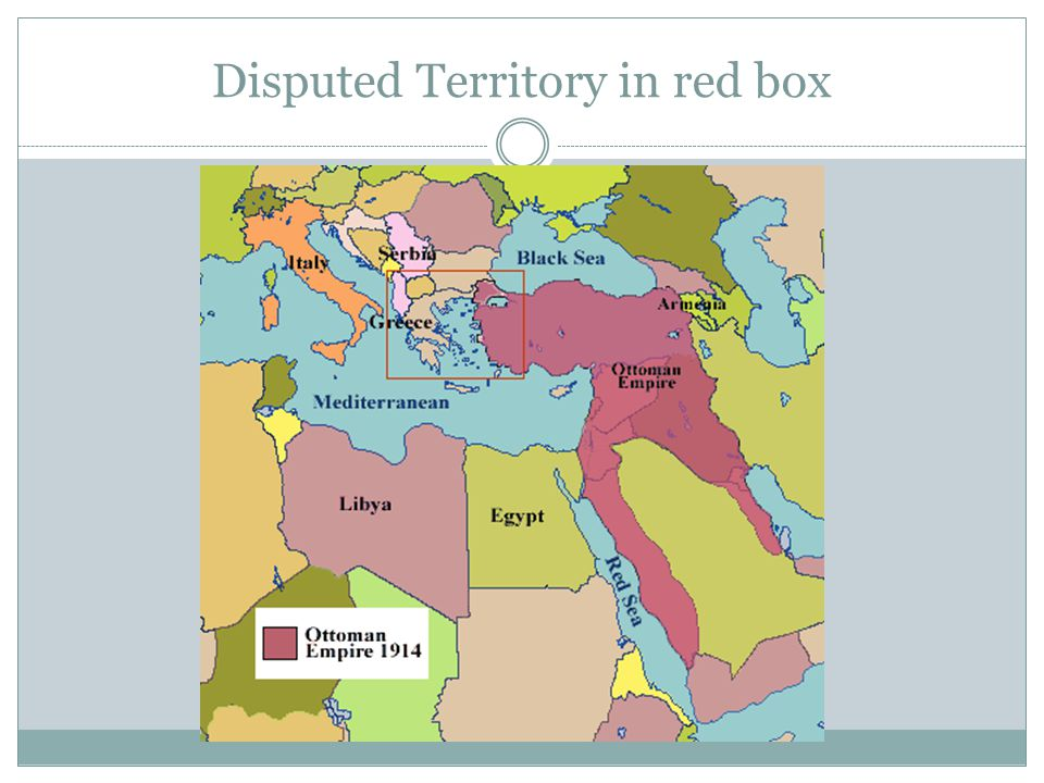 Disputed Territory in red box
