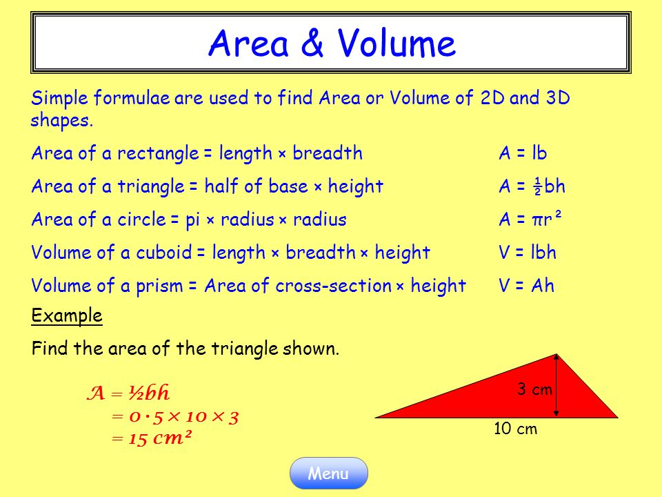 how to find volume of a rectangle without height