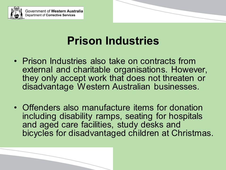 Prison Industries