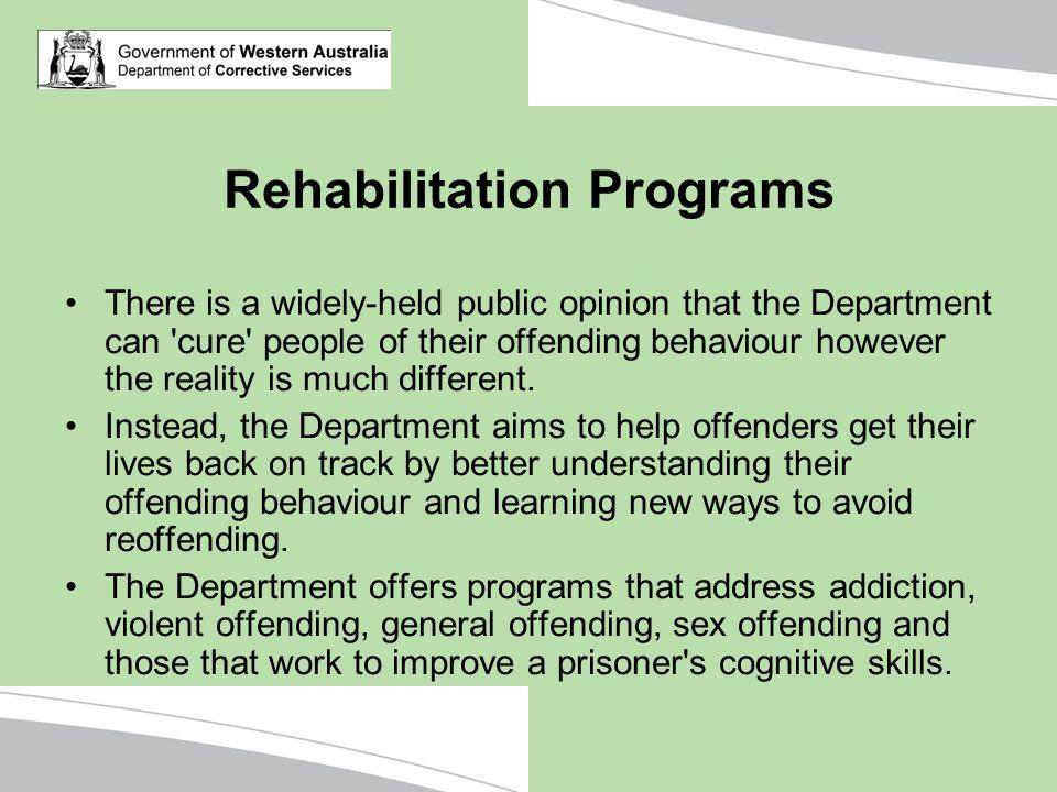 Rehabilitation Programs