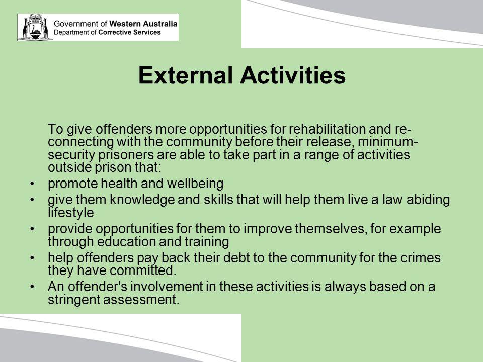External Activities