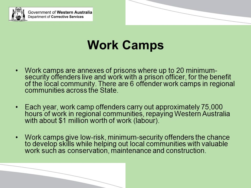 Work Camps