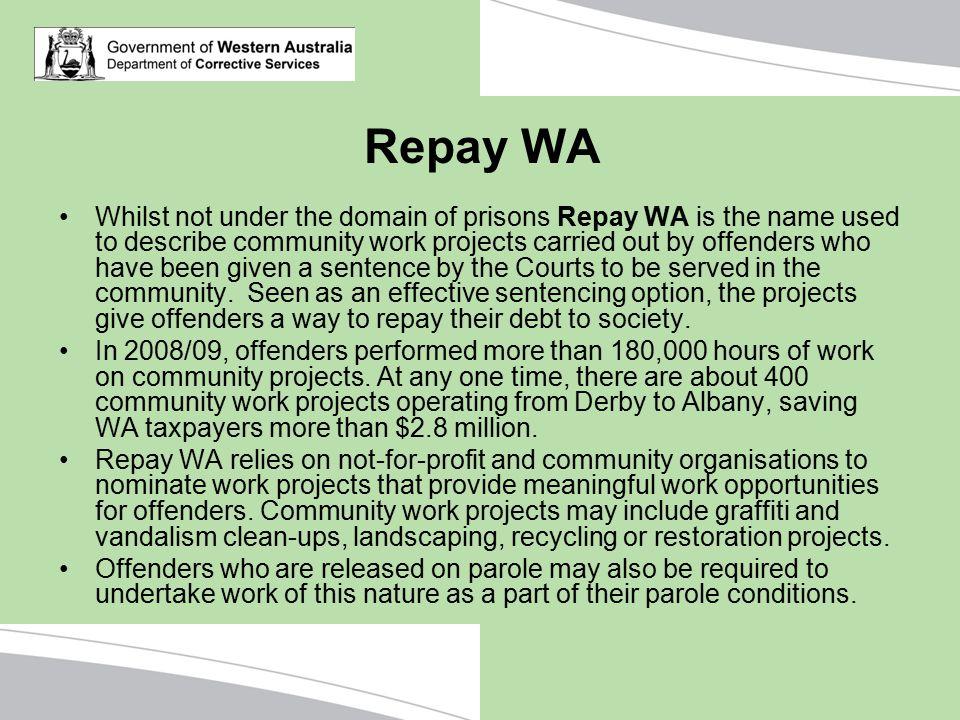 Repay WA