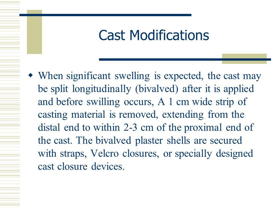 Cast Modifications