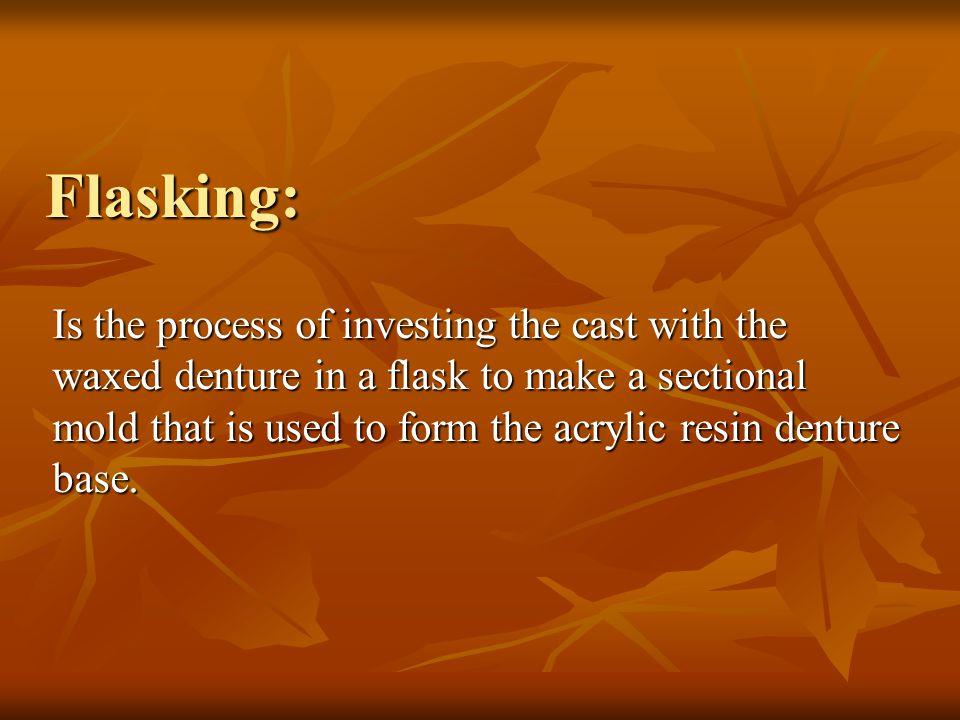 Flasking: