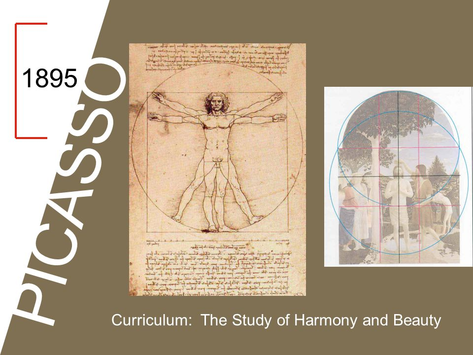 1895 PICASSO Curriculum: The Study of Harmony and Beauty
