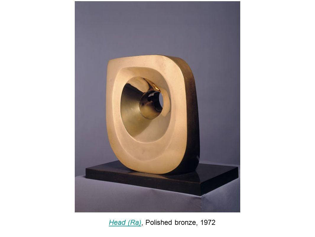 Head (Ra), Polished bronze, 1972