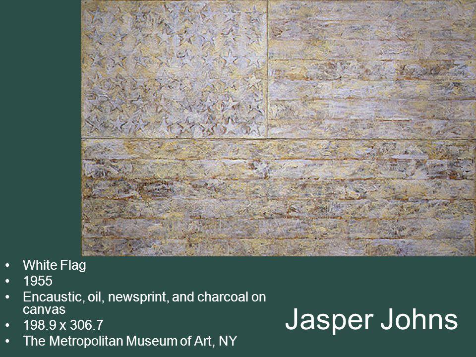 Jasper Johns White Flag 1955