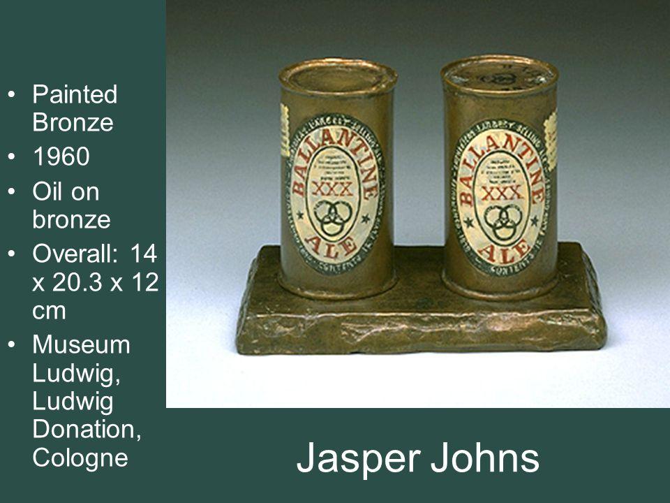 Jasper Johns Painted Bronze 1960 Oil on bronze