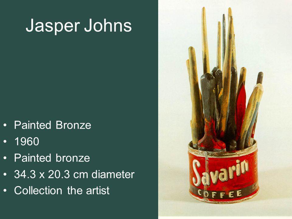 Jasper Johns Painted Bronze 1960 Painted bronze