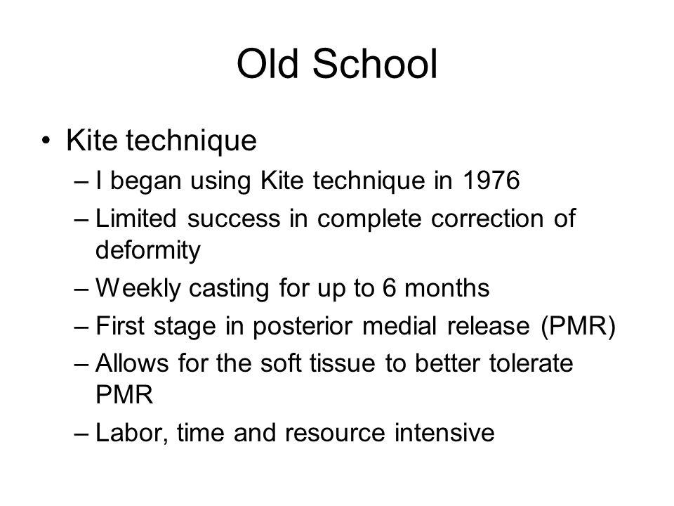 Old School Kite technique I began using Kite technique in 1976