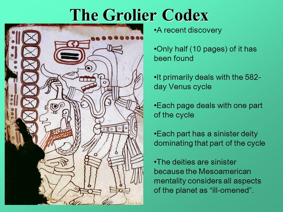 The Grolier Codex A recent discovery