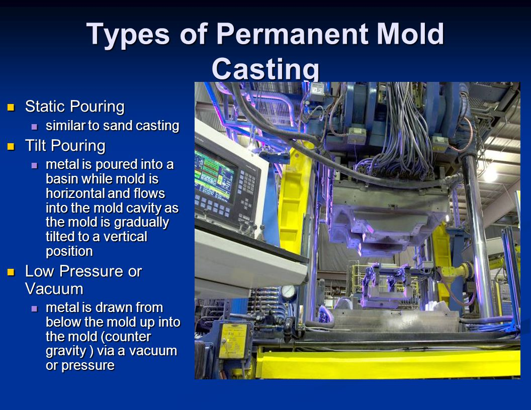 Types of Permanent Mold Casting