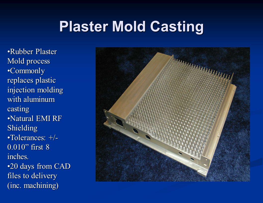 Plaster Mold Casting Rubber Plaster Mold process