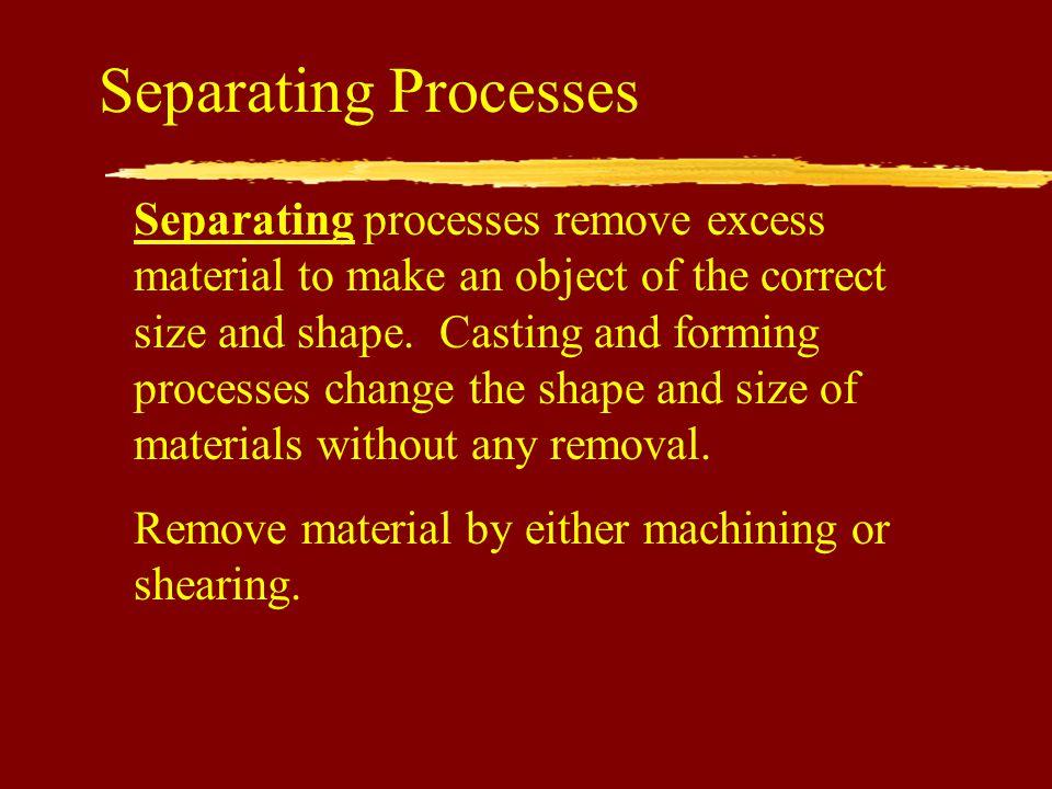 Separating Processes