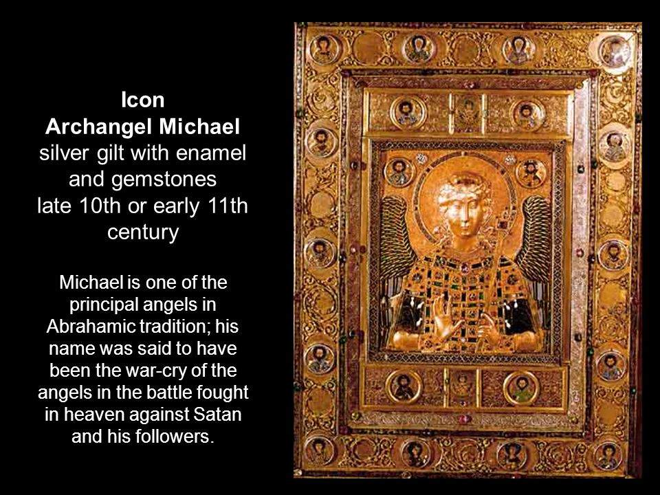 silver gilt with enamel and gemstones late 10th or early 11th century