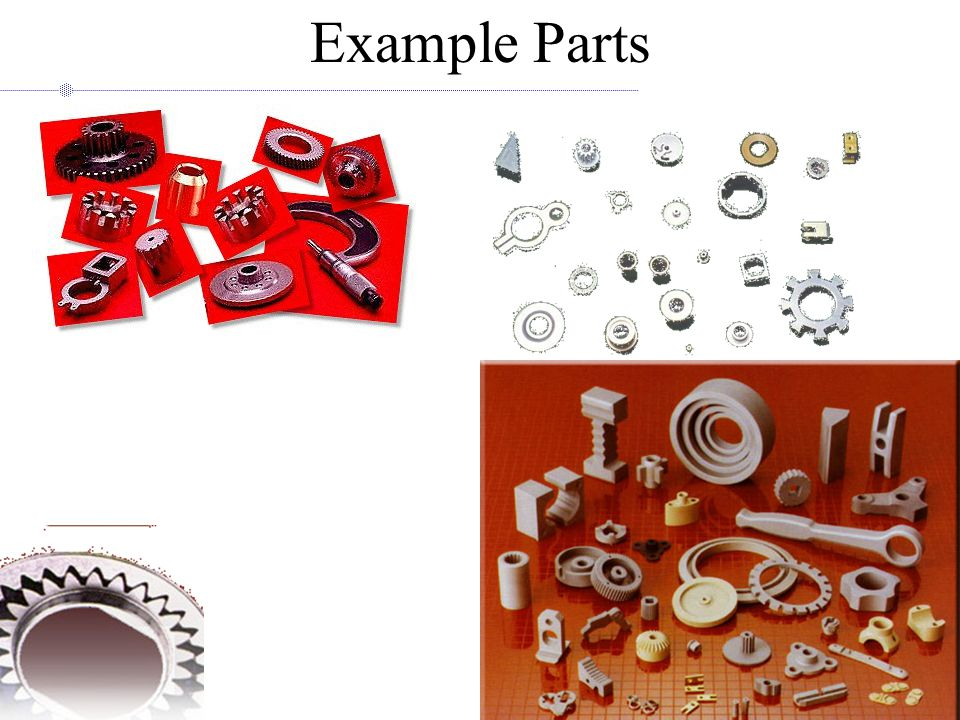 Example Parts