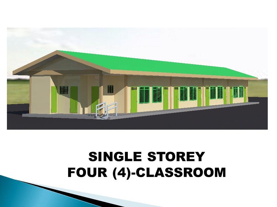 SINGLE STOREY FOUR (4)-CLASSROOM
