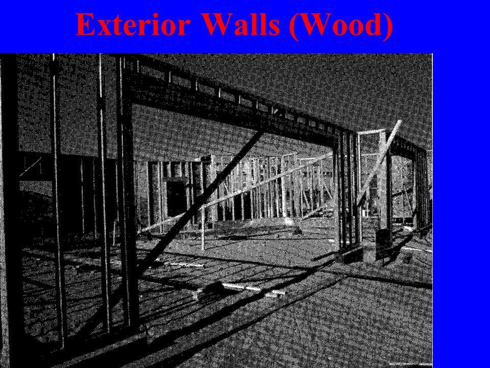 Exterior Walls (Wood)
