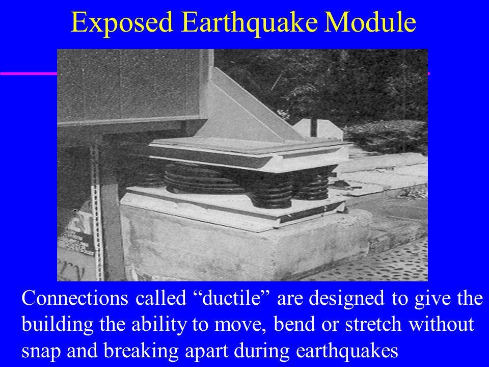 Exposed Earthquake Module