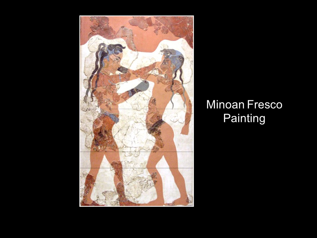 Minoan Fresco Painting