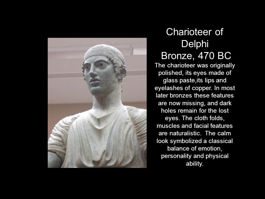 Charioteer of Delphi Bronze, 470 BC