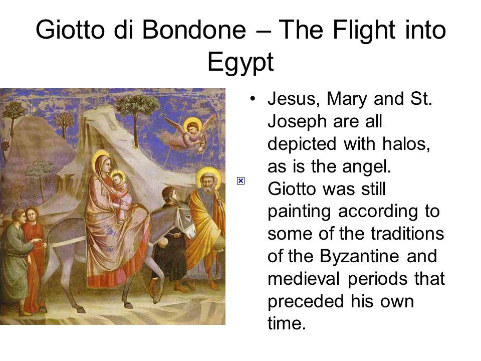 Giotto di Bondone – The Flight into Egypt