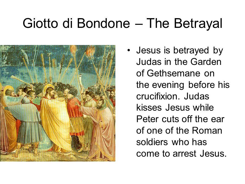 Giotto di Bondone – The Betrayal