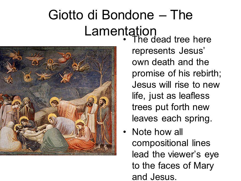 Giotto di Bondone – The Lamentation