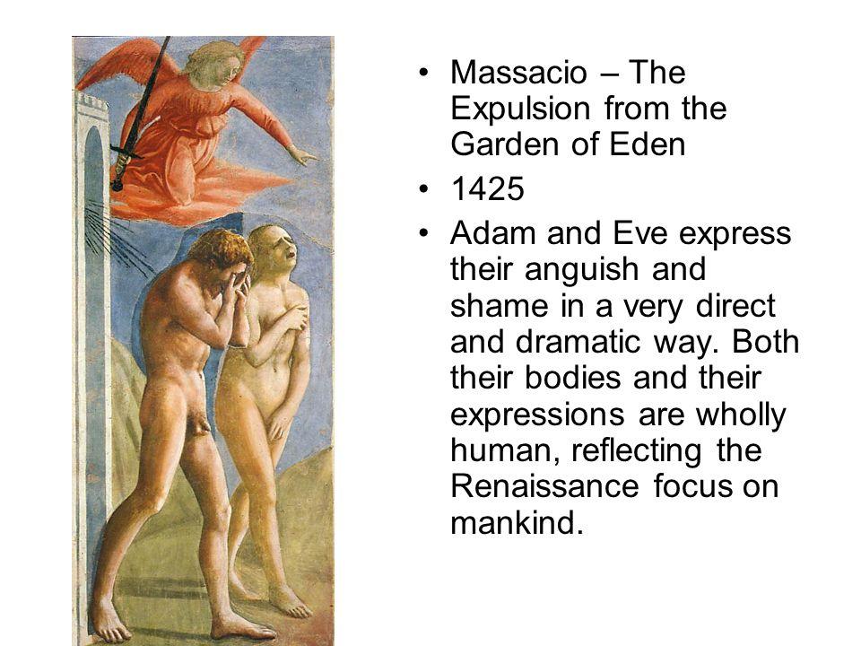Massacio – The Expulsion from the Garden of Eden