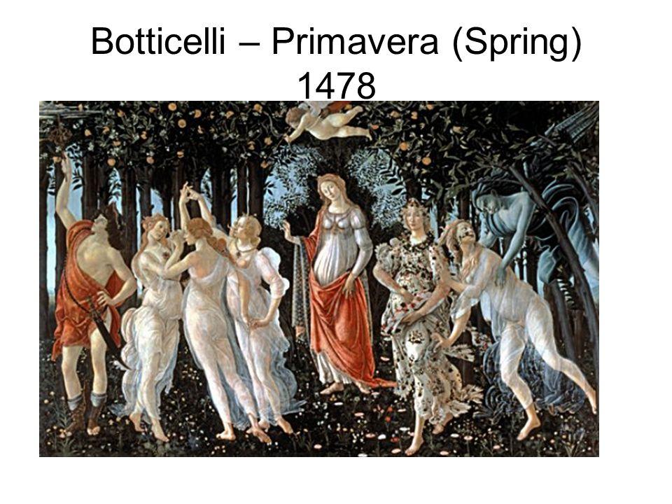 Botticelli – Primavera (Spring) 1478