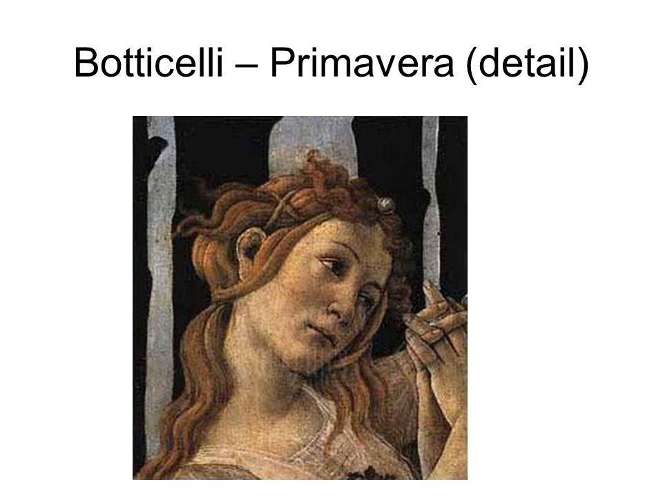 Botticelli – Primavera (detail)