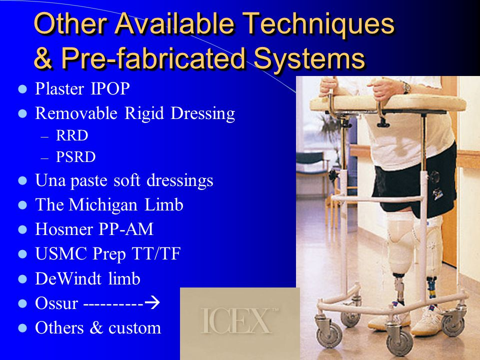 Other Available Techniques & Pre-fabricated Systems