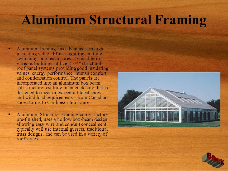 Aluminum Structural Framing