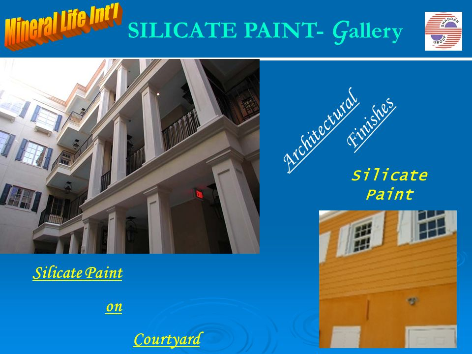 SILICATE PAINT- Gallery