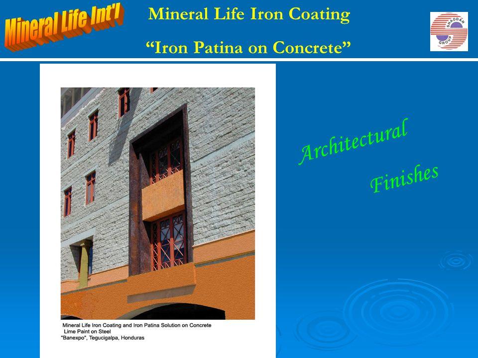 Mineral Life Iron Coating Iron Patina on Concrete