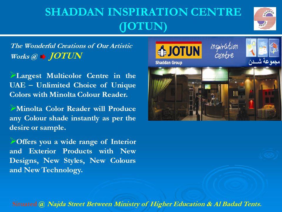 SHADDAN INSPIRATION CENTRE (JOTUN)