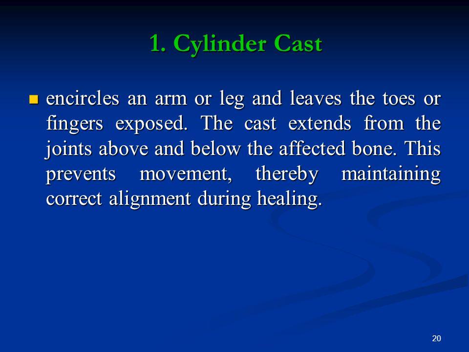 1. Cylinder Cast