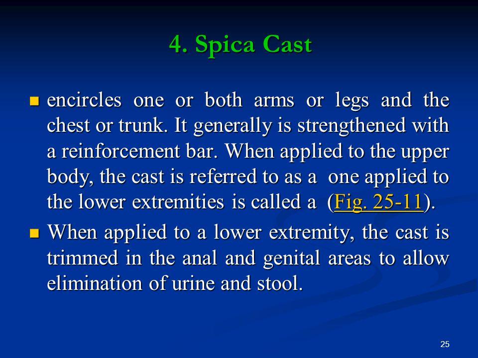 4. Spica Cast